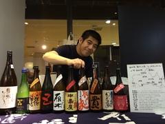 d47 MARKET「地酒のまえつる 前鶴健蔵さんの角打ち 」